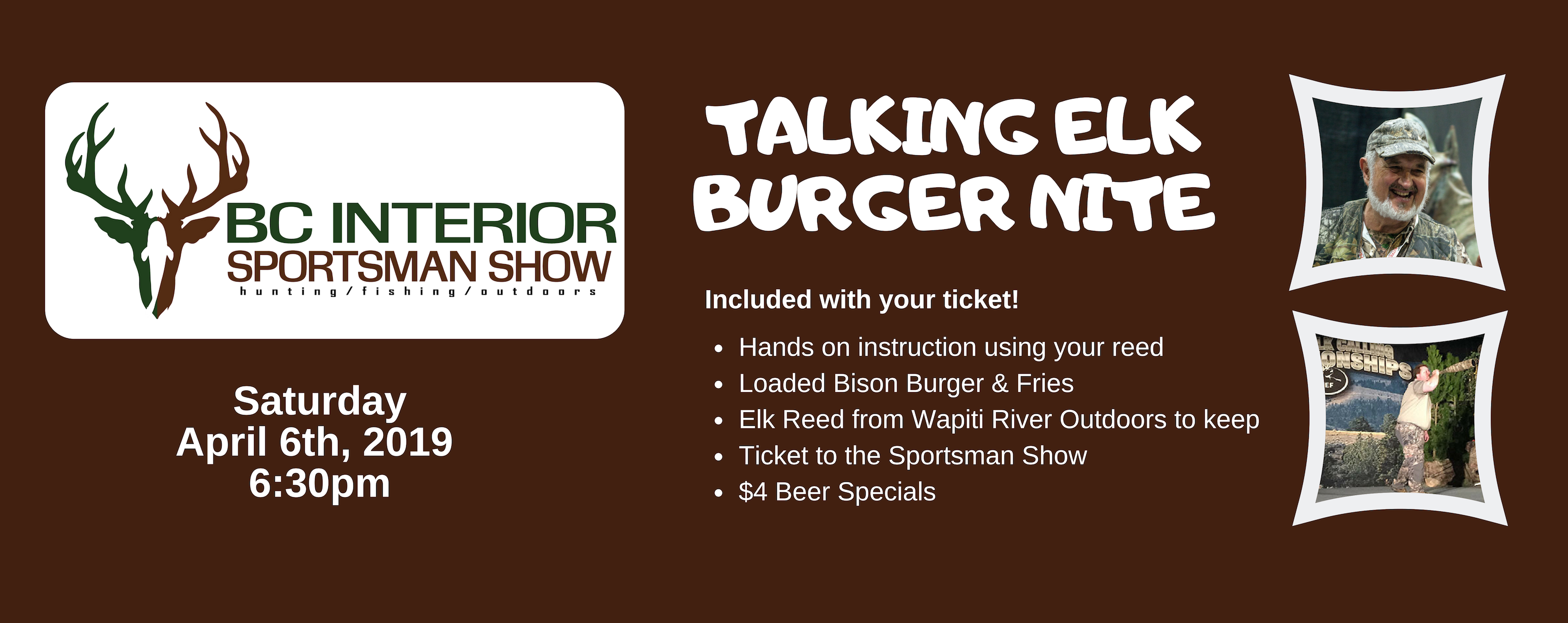 Talking Elk Burger Night